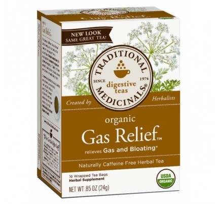 Organic Gas Relief Tea 16 Teabags