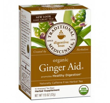 Organic Ginger Aid Tea 16 Teabags