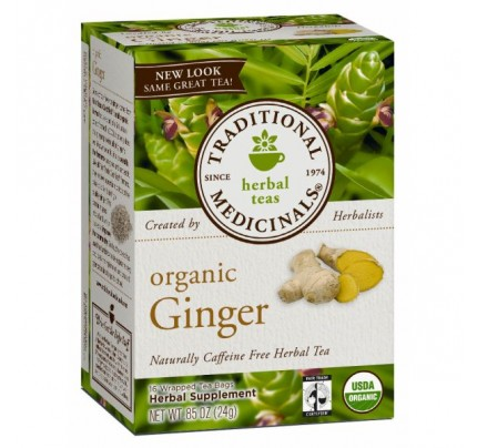 Organic Ginger Tea 16 Teabags