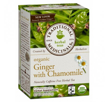 Organic Ginger with Chamomile Tea 16 Teabags