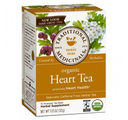 Organic Heart Tea with Hawthorn 16 Teabags