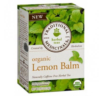 Organic Lemon Balm Tea 16 Teabags