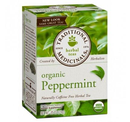 Organic Peppermint Tea 16 Teabags