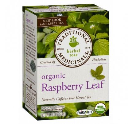 Organic Raspberry Leaf Tea 16 Teabags