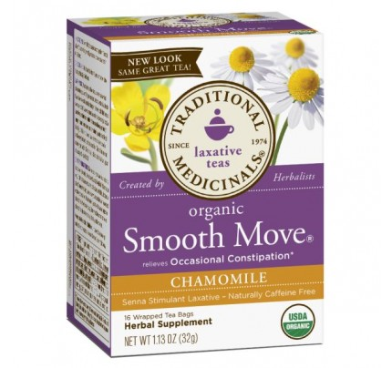 Organic Smooth Move Chamomile Tea 16 Teabags