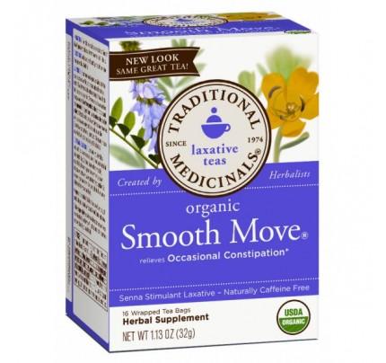Organic Smooth Move Tea 16 Teabags