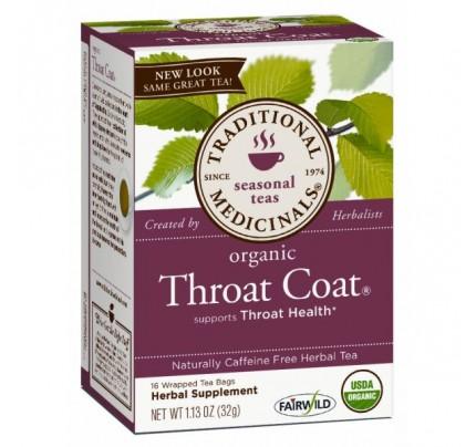Organic Throat Coat Tea 16 Teabags