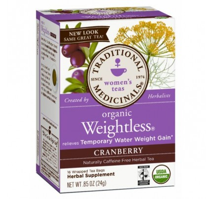 Organic Weightless Cranberry Tea 16 Teabags