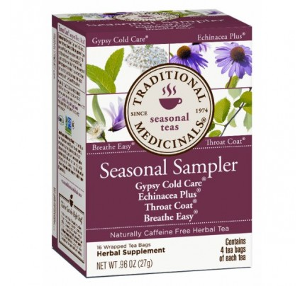 Seasonal Sampler Tea 16 Teabags