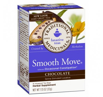 Smooth Move Chocolate Tea 90% Organic 16 Teabags