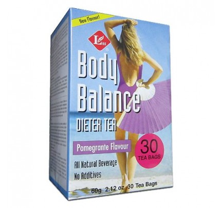 Body Slim Balance Pomegranate Dieter Tea 30 Tea Bags