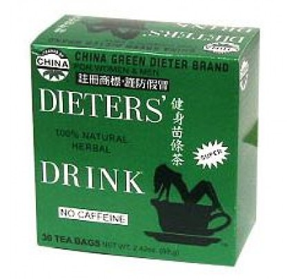 China Green Dieter's Drink Decaffeinated 30 Tea Bags