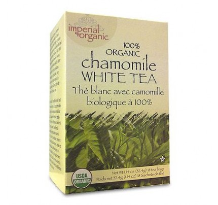 Imperial Organic Chamomile White Tea 18 Tea Bags