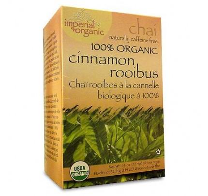 Imperial Organic Cinnamon Rooibos Chai Tea 18 Tea Bags