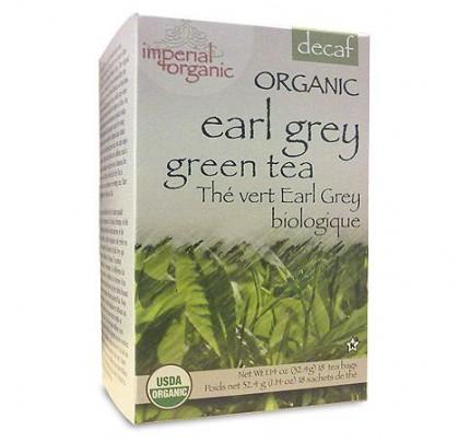 Imperial Organic Earl Grey Decaffeinated Green Tea 18 Tea Bags