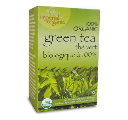 Imperial Organic Green Tea 18 Tea Bags