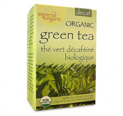 Imperial Organic Green Tea Decaffeinated 18 Tea Bags