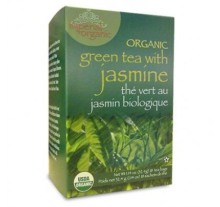 Imperial Organic Green Tea with Jasmine 18 Tea Bags