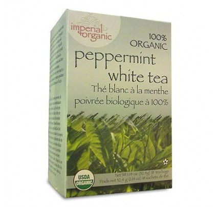 Imperial Organic Peppermint White Tea 18 Tea Bags