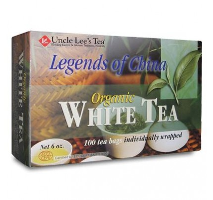 Legends Of China Organic White Tea 100 Tea Bags