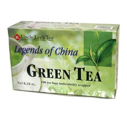 Legends of China Organic Green Tea 100 Tea Bags
