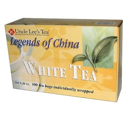 Legends of China White Tea 100 Tea Bags