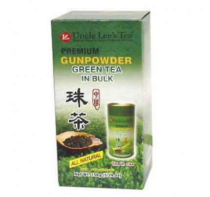 Loose Premium Bulk Gunpowder Green Tea 5.29oz.