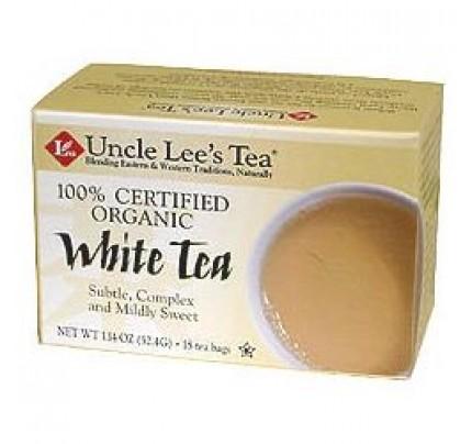 Organic White Tea 18 Tea Bags