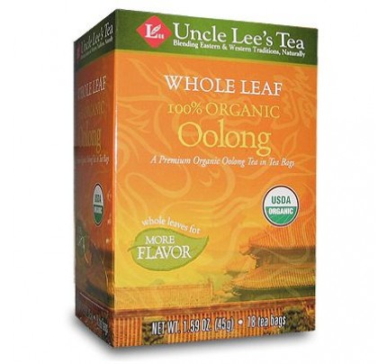 Whole Leaf Organic Oolong Tea 18 Tea Bags