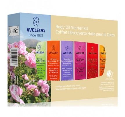 Body Oil Essentials Starter Kit 6 Pieces