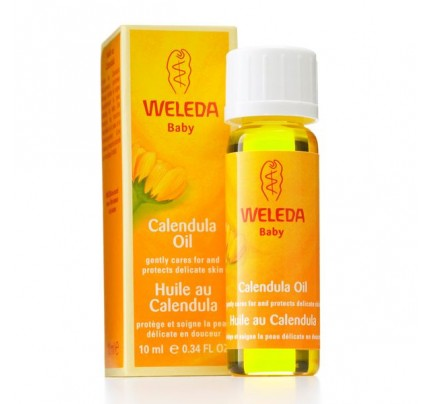 Calendula Baby Oil Trial Size
