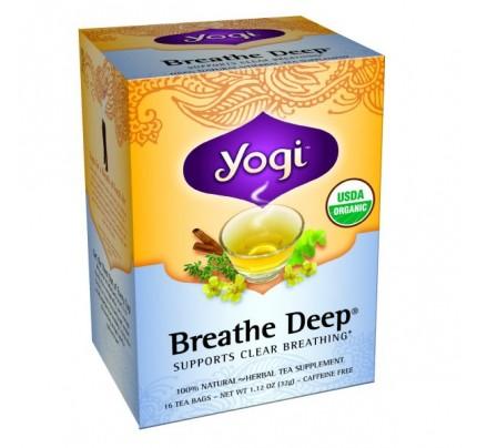 Breathe Deep Organic Tea 16 Tea Bags