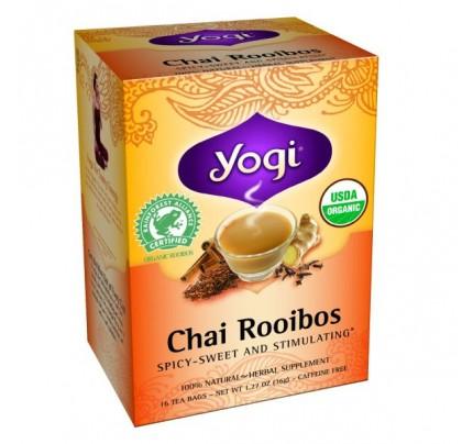 Chai Rooibos Redbush Organic Tea 16 Tea Bags