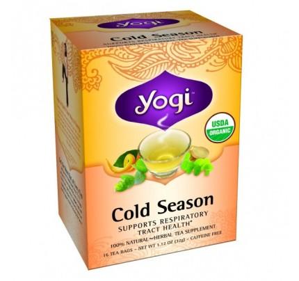 Cold Season Organic Tea 16 Tea Bags