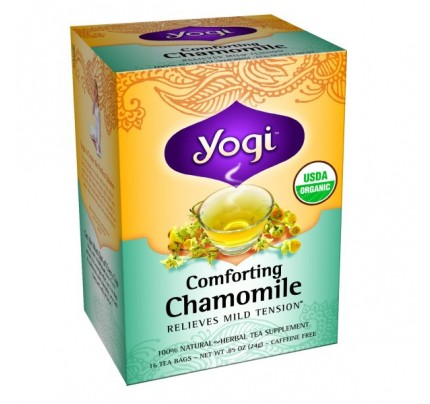 Comforting Chamomile Flower Organic Tea 16 Tea Bags
