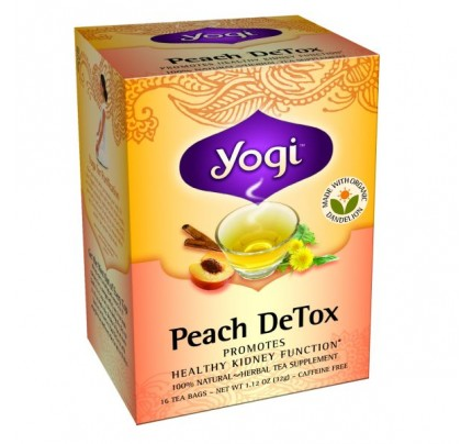 Peach DeTox Tea 16 Tea Bags