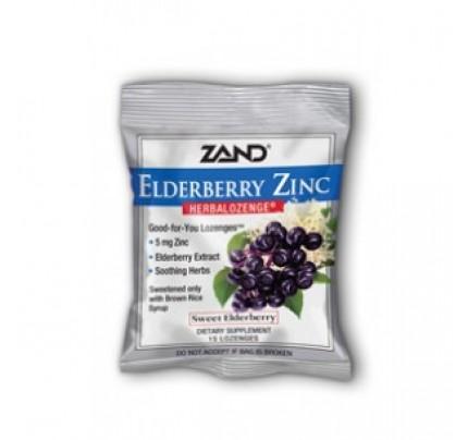 HerbaLozenge Elderberry Zinc 15 Lozenges