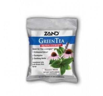 HerbaLozenge Green Tea with Echinacea 15 Lozenges
