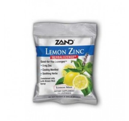 HerbaLozenge Lemon Zinc 15 Lozenges