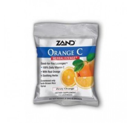 HerbaLozenge Orange C 15 Lozenges