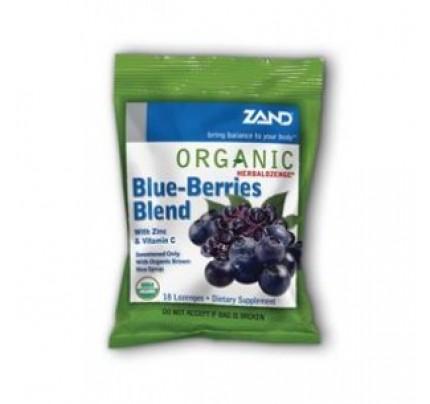 HerbaLozenge Organic Blue Berries Blend 18 Lozenges
