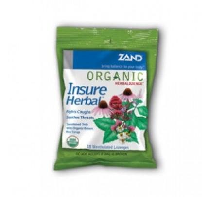 Organic Insure Herbal Lozenge 18 Lozenges