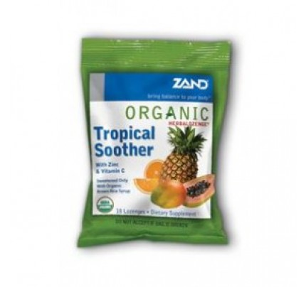 HerbaLozenge Organic Tropical Soother 18 Lozenges