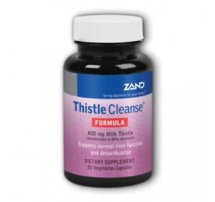 Thistle Cleanse Formula 400 mg Milk Thistle 30 Vegetarian Capsules