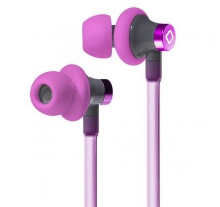 A3 Active Hands-Free Headset Cell Phone Air Tube Stereo Earbuds Pink