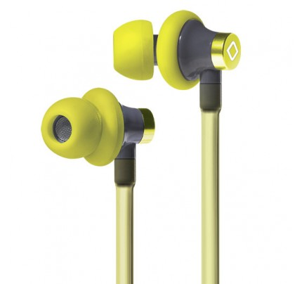 A3 Active Hands-Free Headset Cell Phone Air Tube Stereo Earbuds Yellow