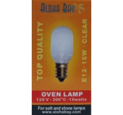 Himalayan Salt Crystal Light Bulb 15 Watt