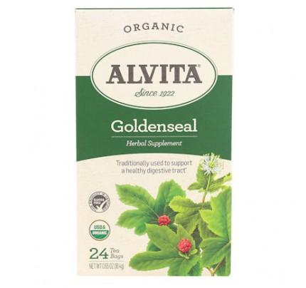 Goldenseal Organic Herbal Tea 24 Tea Bags