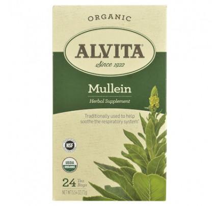 Organic Mullein Leaf Tea 24 Tea Bags