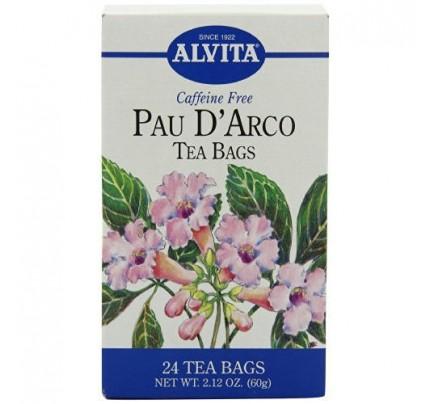 Pau D'Arco Caffeine Free Tea 24 Tea Bags
